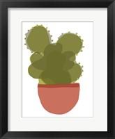 Framed Mod Cactus II