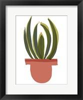 Framed Mod Cactus IV
