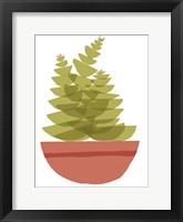Framed Mod Cactus VI