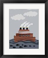 Framed Oceans Ahoy I