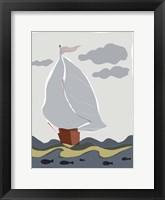 Framed Oceans Ahoy III