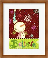 Framed Bright Believe II