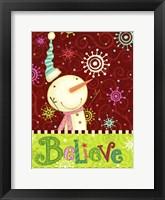 Framed Bright Believe II
