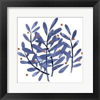 Framed Botanical Impressions I