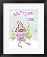 Candy Christmas I Framed Print