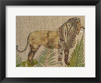 Framed Rattan Jungle I