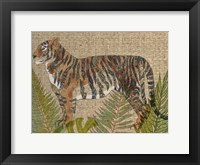 Framed Rattan Jungle II