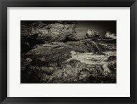 Framed Corona Coast Sepia