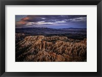 Framed Bryce Canyon Sunset 2