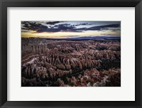 Framed Bryce Canyon Sunset 3