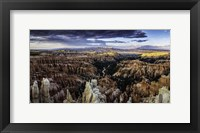 Framed Bryce Canyon Sunset 4