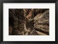Framed Narrow Slot Canyon