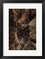 Framed Narrow Slot Canyon 2