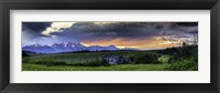 Framed Teton Mountains 2