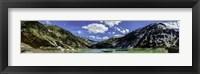 Framed Glacier Lakes