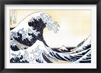 Framed Great Wave
