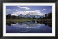 Framed Grand Teton National Park
