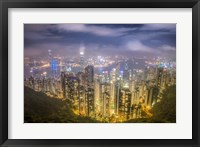Framed View from The Peak Hong Kong