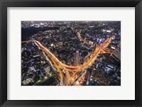 Framed Tokyo Traffic