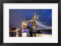 Framed Tower Bridge at Night