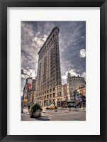 Framed Flatiron Building New York