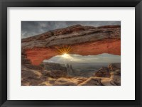 Framed Mesa Arch Sunburst