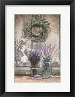 Framed Cutting Lavender