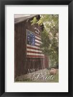 Framed American Pride