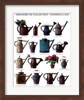 Framed Arrosoirs de Collection