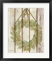 Framed Rope Hanging Wreath