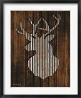 Framed Deer Head II