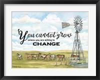 Framed Willing to Change