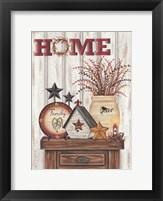 Framed Home & Family