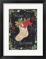 Framed Holiday Blessings