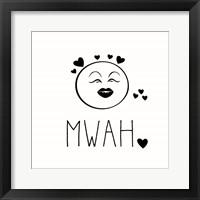Framed Mwah