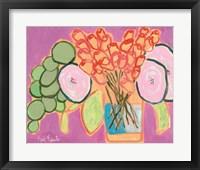 Framed Flowers for Maude I