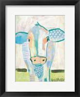 Framed Moo Series:  Laverne