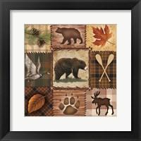 Framed Wildlife Icons