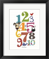Framed Colorful Numbers