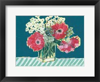 Framed Flowers for Belle I