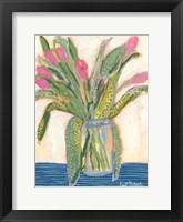Framed Tulips for Maxine I