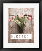 Framed Blessed Tulips