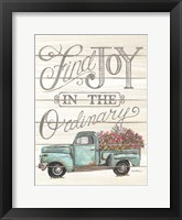 Framed Find Joy in the Ordinary