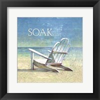 Framed Coastal Soak
