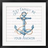 Framed Nautical Life IV