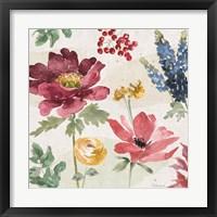 Framed Watercolor Fall II