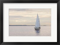 Framed Sailboat in Semiahmoo Bay