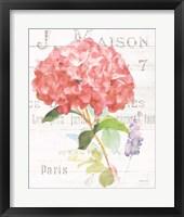 Framed Maison des Fleurs VI