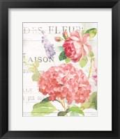 Framed Maison Des Fleurs IV
