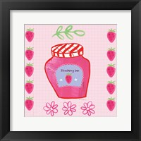 Framed Pretty Jams and Jellies I